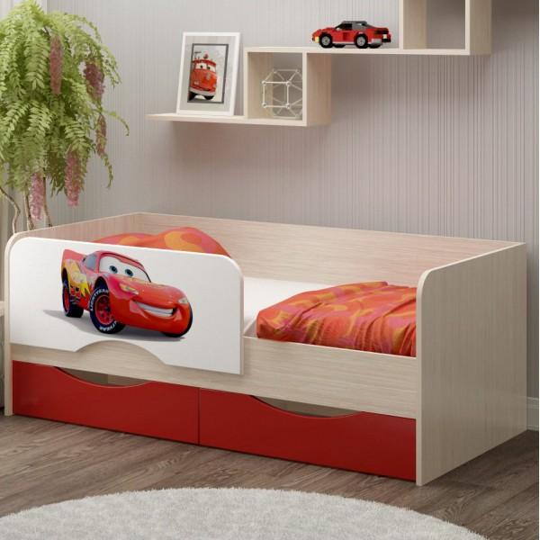 """Кровать """"Юниор 12"""" с фотопечатью"""