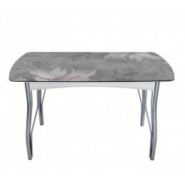 "Обеденный стол ""Магнолия на мраморе"""