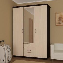 Шкаф 3 ств. с 3 ящиками
